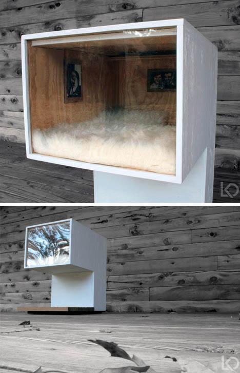 Diy Modern Cat House With A Loft Designs Amp Ideas On Dornob