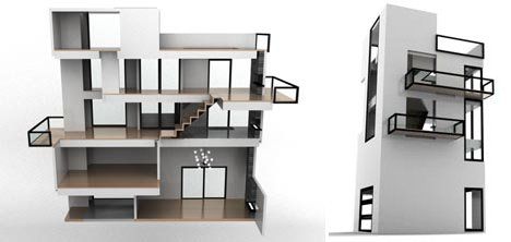 modern in miniature dollhouses for tiny design enthusiasts