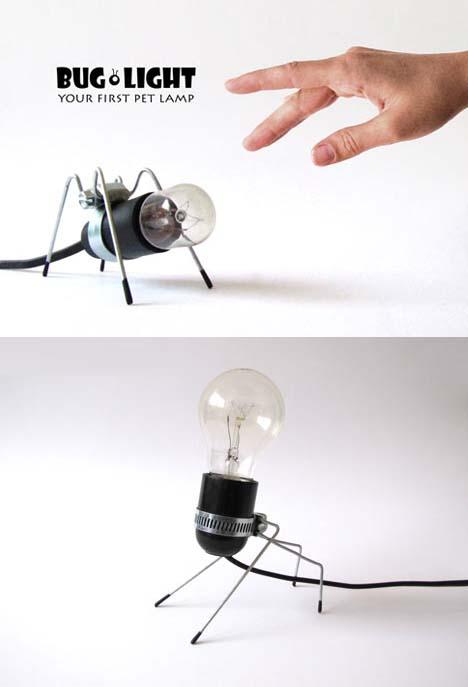 Your First Pet Lamp: Bug Legged Desktop Illuminations