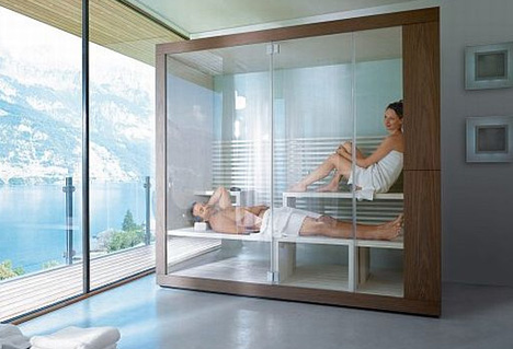 Dream Bathrooms With Saunas Showers Space Permitting