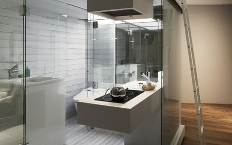 Apartment Bathrooms wee washrooms: stylish subcompact apartment bathrooms
