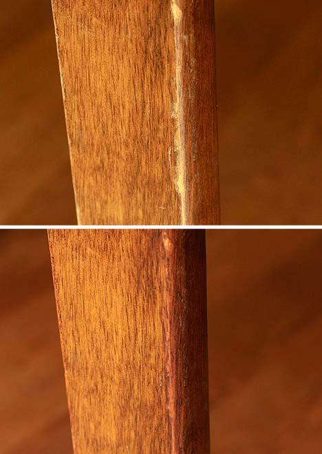 Hack Worthy Wooden Furniture Fix Using Just One Walnut
