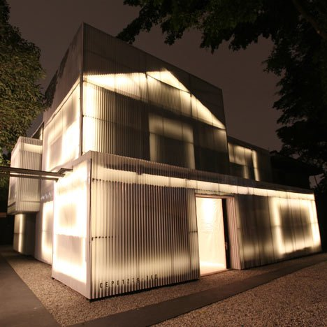 A Light Dream House Delightfully Transformed With Leds