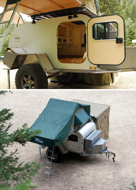 Rugged All Terrain Trailer Home For Off Road Adventures