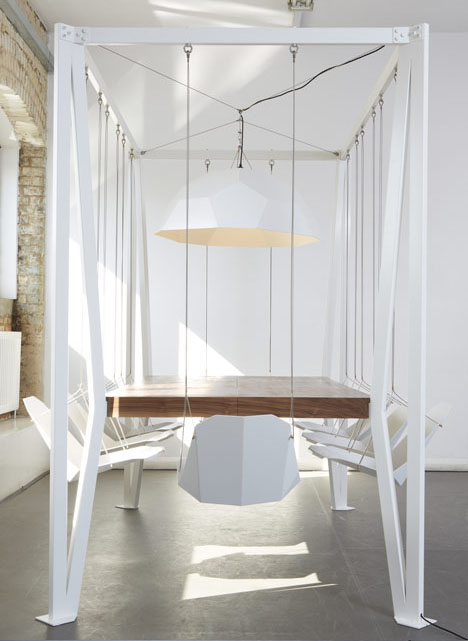 Smart living company swing table