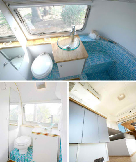 Vintage Airstream Converted Into Home/Office Hybrid