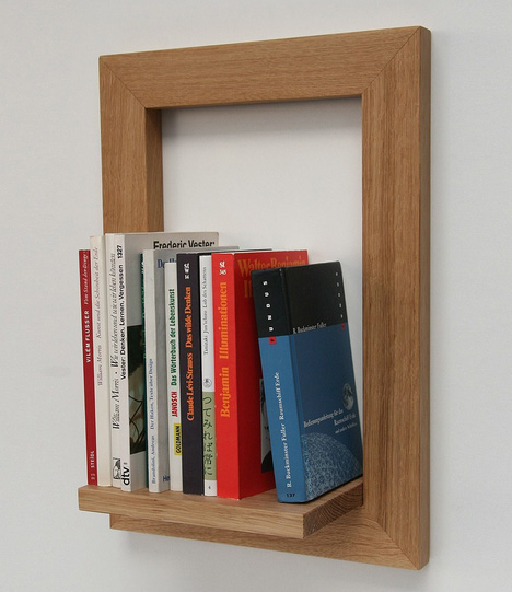 Object Frame: Wall Display Shelves Meet Picture Frames