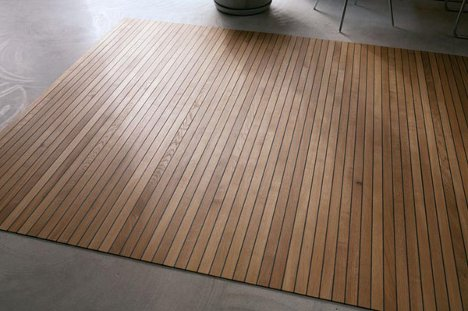 Ruckstuhl S Innovative Wooden Carpets