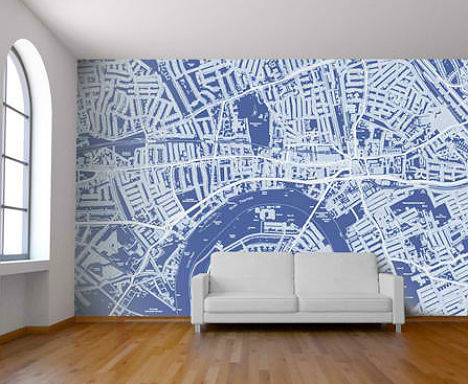 Turn The Country, City Or Neighborhood Of Your Choice Into A Colorful  Custom Backdrop With Map Wall Murals From Wallpapered. Based In Central  London, ... Part 53