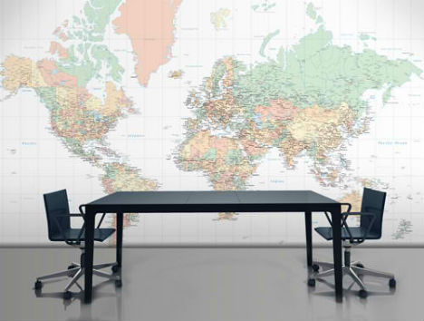 Celebrate cities with customizable map wallpaper in addition to street maps wallpapered also offers more traditional maps of the world retaining the option of printing it in your desired colors or gumiabroncs Gallery