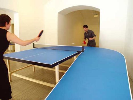 Ping Pong Peculiar 6 Extreme Ly Fun Table Tennis Surfaces