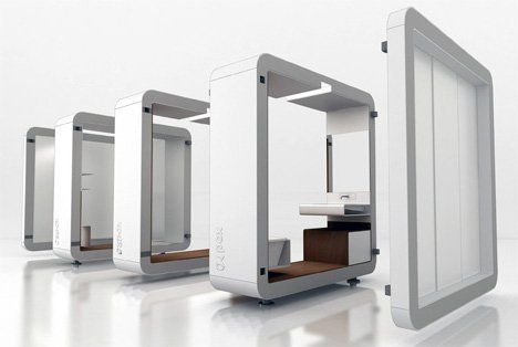 Attirant Modular Bathroom Is Low On Space But High On Efficiency