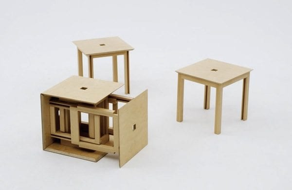 Tremendous Cube 6 Box Unfolds Into Stools Designs Ideas On Dornob Caraccident5 Cool Chair Designs And Ideas Caraccident5Info