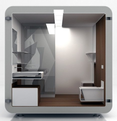 The Modular Bathroom ...