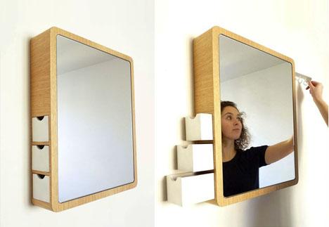 Mirror With Hidden Storage Designs Amp Ideas On Dornob