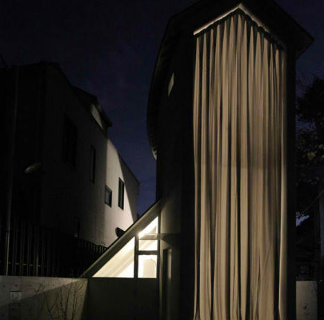 Best Design News O-House-1 Glass Tower House Shares Family Life with the City of Kyoto Interior Design Tower Shares Life Kyoto House Glass Family City