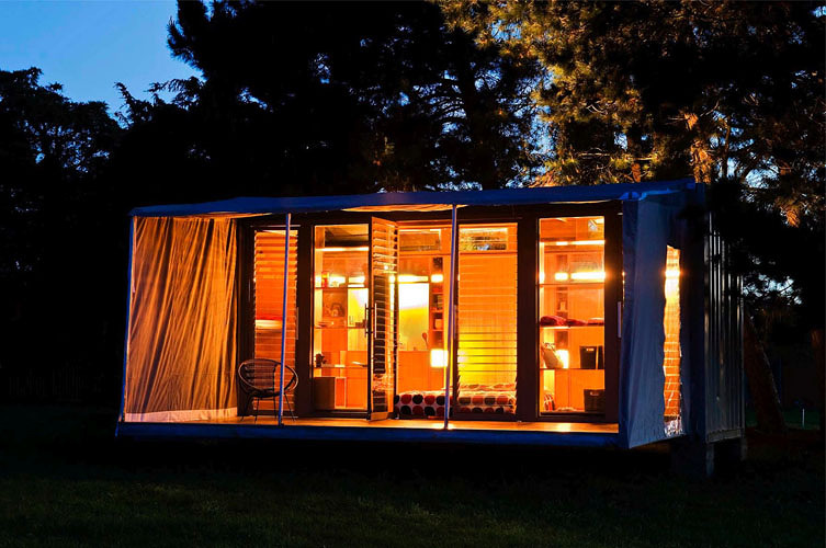 Fold-Out Shipping Container...