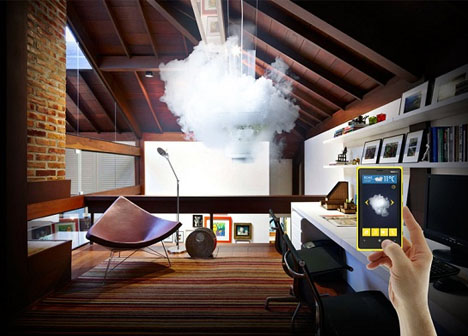 Surreal Chandelier Creates Indoor Clouds Sunrises Amp More