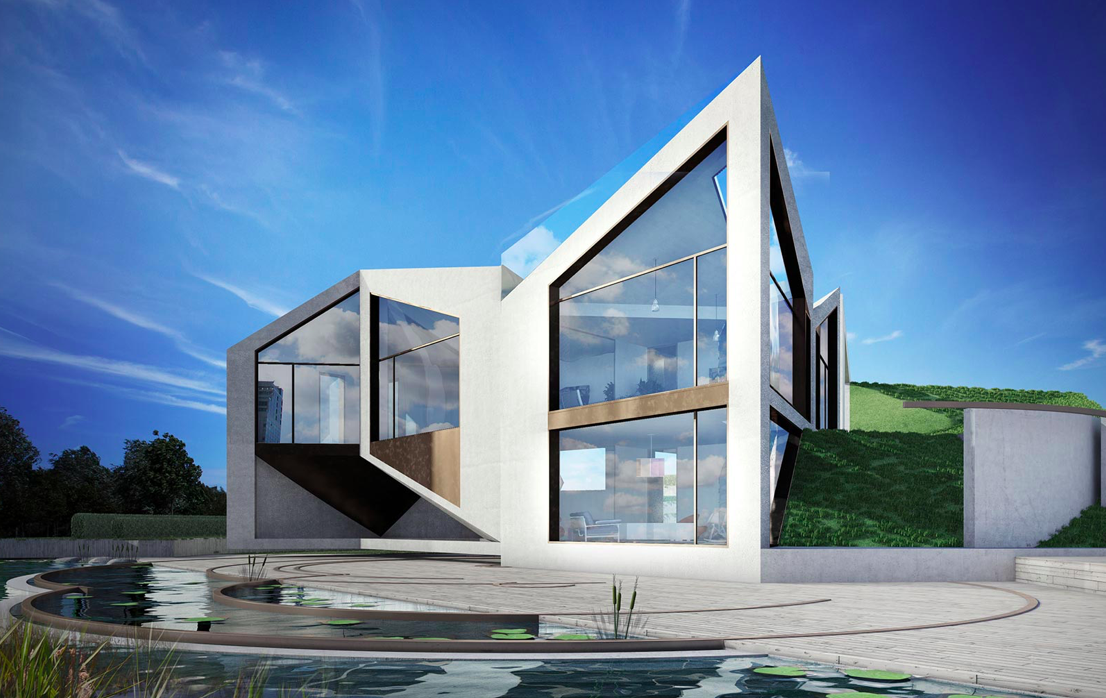 Morphing House Shape Shifts To Maximize Light Designs