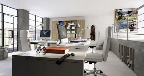 Superb Working Inspiration: 9 Modern Home Office Designs. By Delana. The ...
