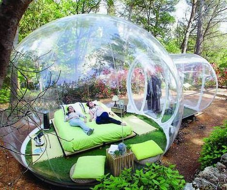 & Vacation in a Bubble