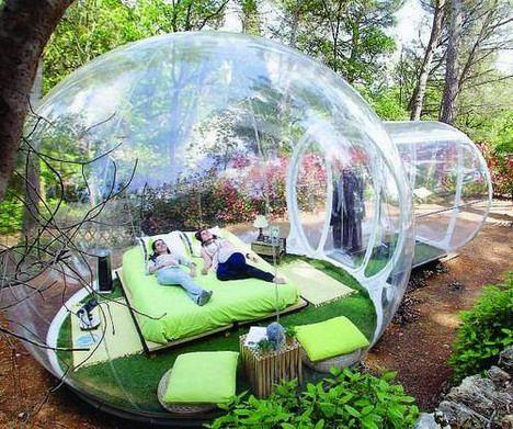 Vacation in a Bubble | Designs & Ideas on Dornob