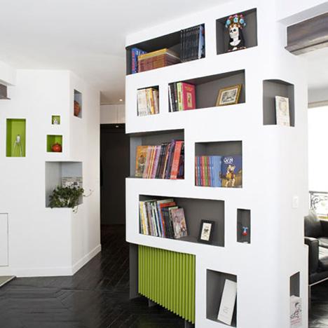 Tiny Paris Apartment is Huge on Storage + Customizability