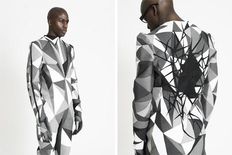 Structural Ingenuity Hand Crafted Bio Geometric Menswear Designs Ideas On Dornob