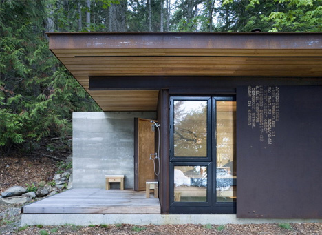 One Room Cabin Japanese Minimalism In Rustic Northwest