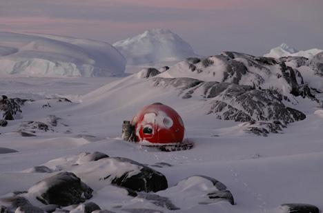 Portable Prefab Igloo Modular Extreme Weather Shelters