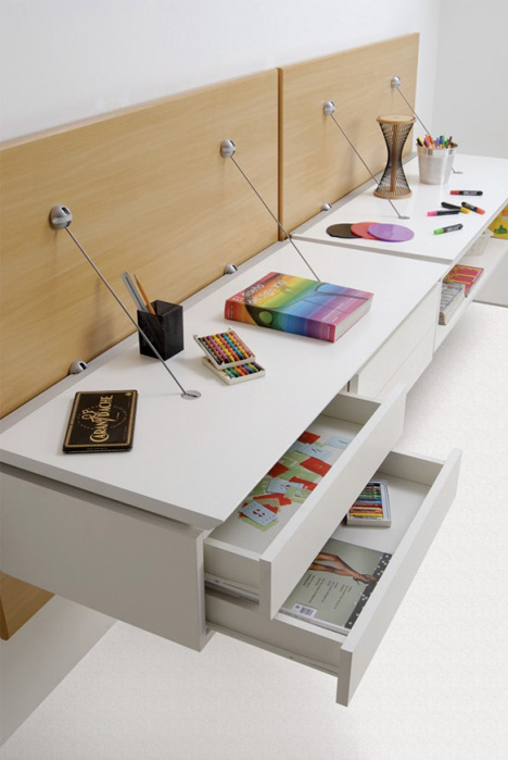 Light Amp Elegant Minimalist Wall Hanging Modular Furniture