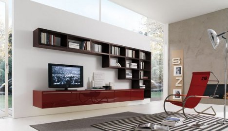 Some Wall Unit Bookcases