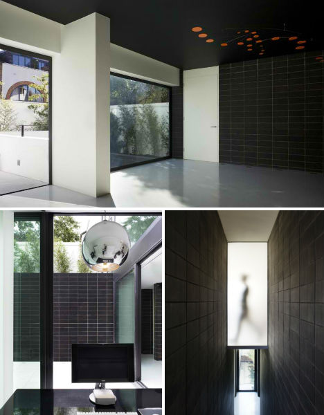 Elegant Andy Martin Architects (AMA) Turned The Subterranean Garage Into A Sunken  Courtyard Resembling A Slate Quarry, With Charcoal Bricks Lining The Walls  And ... Nice Ideas