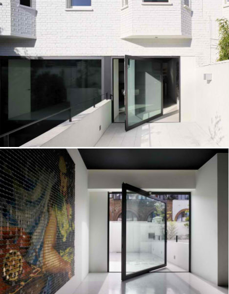 Mechanic Garage To Modern Glass Addition In London