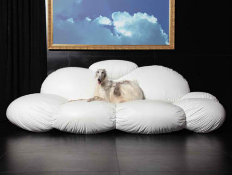 ergonomic living room furniture lounge on a cloud in your living room with the cirrus sofa
