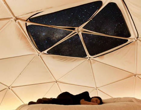 & Epic Stargazing from Geodesic Dome Tents at Chile Hotel
