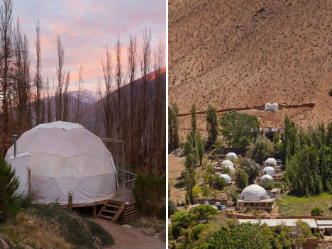 Epic Stargazing From Geodesic Dome Tents At Chile Hotel