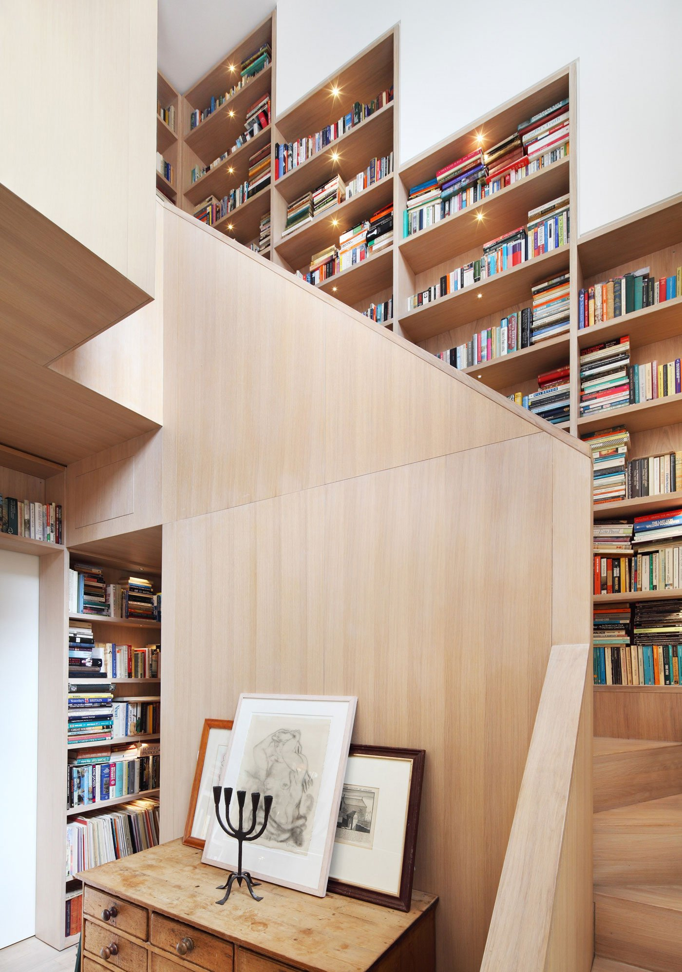 Staircase That Doubles As A Library Designs Ideas On Dornob