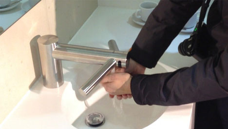 Dyson Doubles Down: Hybrid Drip-Free Faucet + Hand Dryer