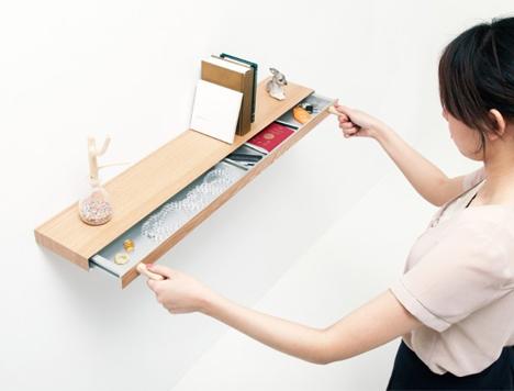 Secret Drawer: Bookshelf Hides Magnetically-Locked...