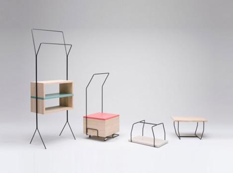 Convertable furniture Studio Apartment Dubbed Maisonette Dornob Pretty Portable Cute 3piece Convertible Furniture Series