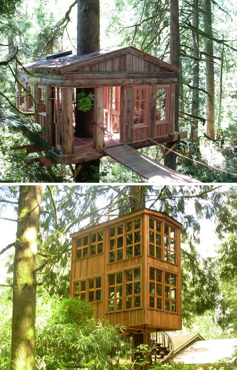 Tree House Studio Builds Hideaways Studios Retreats Designs