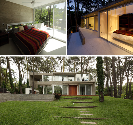 Indoor-Outdoor Paradise: South American Forest Retreat