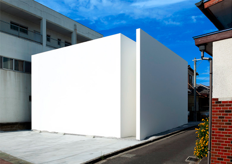 Minimal Homes blank white box: whole new extreme for minimalist homes
