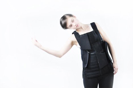 Wearable Drum Kit Hugs Your Body in Thumping Beats