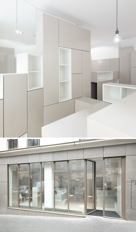 Box Office: Storage Defines Space in Parisian Workplace
