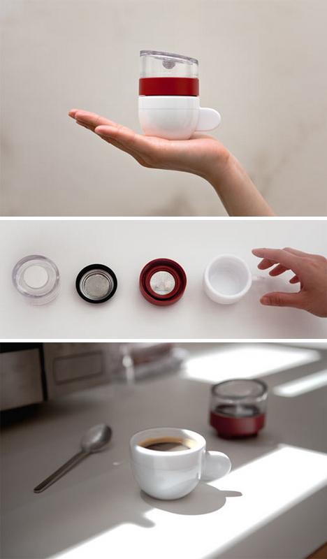Hand-Held Coffee Shop: 30-Second Microwave Espresso