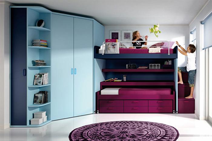 Kids Bedroom Set, Kids Furniture Set