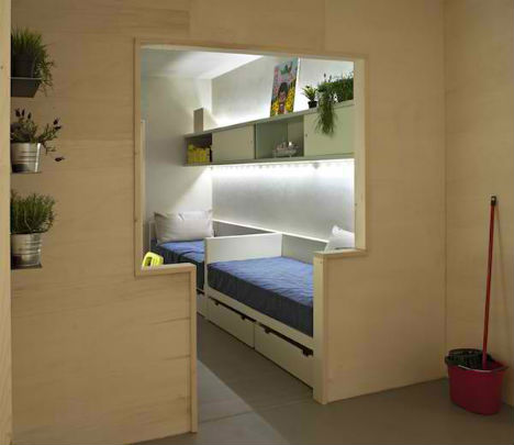 Freedom Rooms: Micro Apartments Designed by Prisoners