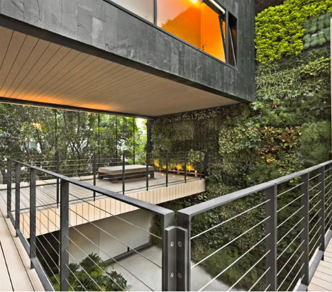What Looks Like An Imposing, Monolithic Black Volume From The Outside Is  Filled With Air, Light And Greenery On The Inside. Casa CorManca Is A  Modern, ...